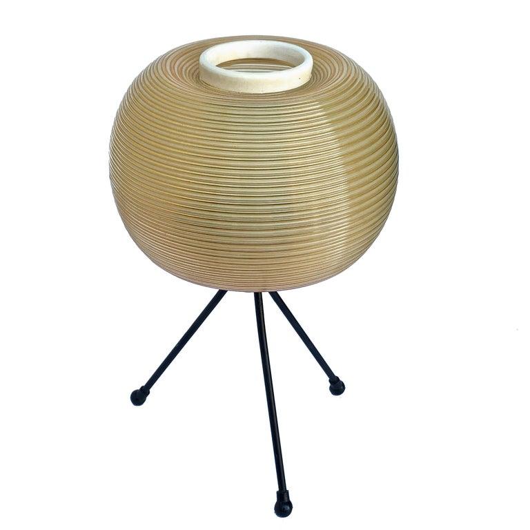 Rotaflex Table Lamp, Disderot ARP Guariche Mortar Motte Design 1950s Table Lamp For Sale