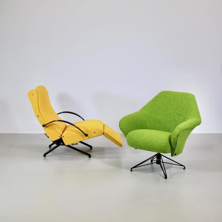 Rotating Armchair by Osvaldo Borsani, Tecno For Sale 2