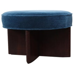 Rotating Ottoman by Frank Lloyd Wright for Henredon