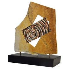 Rotazione Mosaic Sculpture by Nino Basso