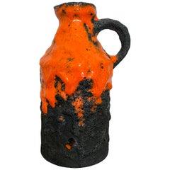Roth Keramic Fat Lava Vase, West Germany