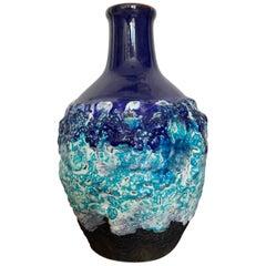 Roth Keramic Vase, 1970s, West Germany