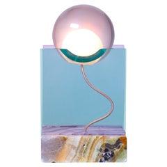 Rotonda Lamp in Onyx and Resin