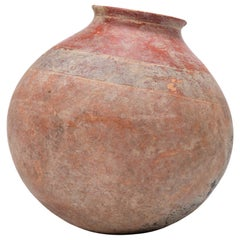 Round African Redware Vessel