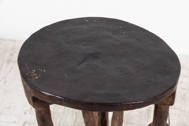 Round African Stool from Mali For Sale 2