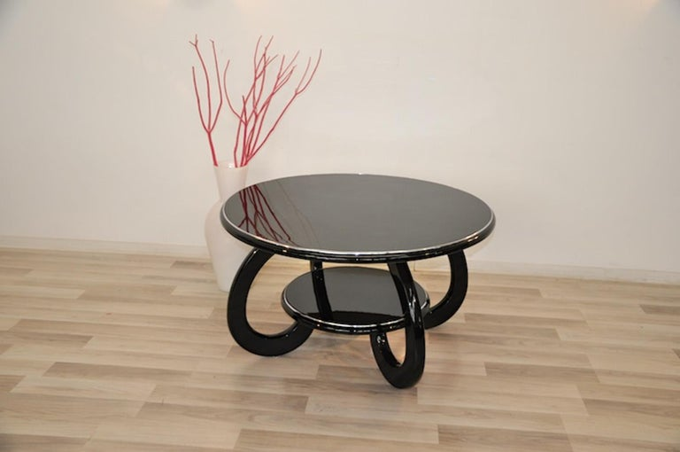 Round Art Deco Coffee Table For Sale At 1stdibs