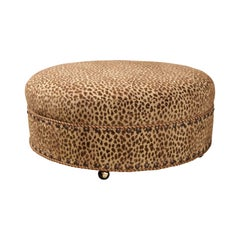 Round Baker Ottoman