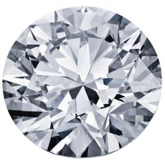 Round Brilliant Diamond, 2.43 Carat GIA Certified, Loose, I Color, VS1 Clarity