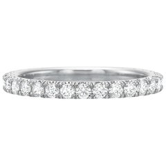 Round Brilliant Diamond Eternity Band '0.70 Carat'