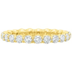 Round Brilliant Diamond Eternity Band '1.18 Carat'