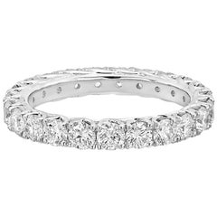Round Brilliant Diamond Eternity Band '1.86 Carat'