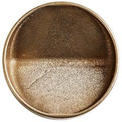 Round Bronze Vide Poche by Henry Wilson