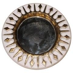 Round Ceramic Mirror