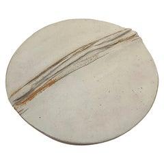 Round Ceramic Sculpture