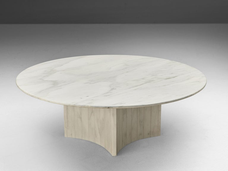 Coffee table, marble, Italy 1970s