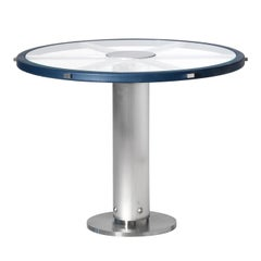 Round Crystal Table by Simone Ciarmoli and Miguel Queda