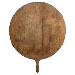 Round Cutting Board, America, circa 1900