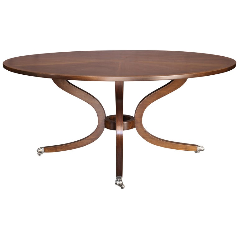 5e903f694b8a Round Dessin Fournir Dining Table or Centre Table at 1stdibs
