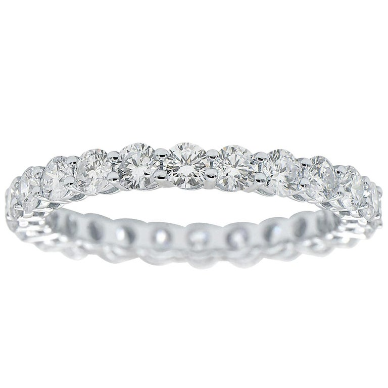 Round Diamond Eternity Band For Sale