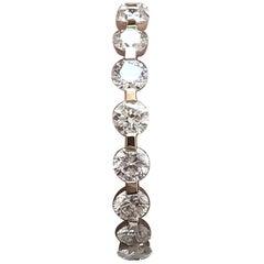 Round Diamond Wedding Eternity Band 1.26 Carat TW, 14 Karat Gold, Ben-Dannie
