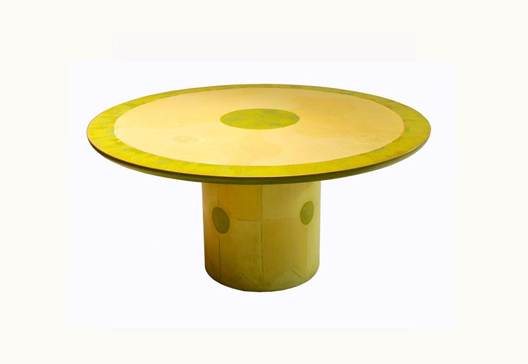 Round Dining or Center Table by Randy Shull, USA, 1999 4