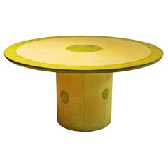 Round Dining or Center Table by Randy Shull, USA, 1999