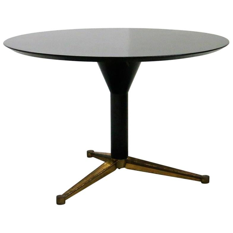 Round Dining Table Attr. to Melchiorre Bega, 1950s
