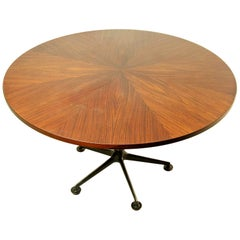 Round Dining Table by Ico Parisi for MIM Roma