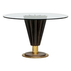 Round Dining Table by Pierre Cardin from 1980s