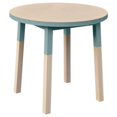 Round Table, South Scandinavian Design by Eric Gizard, 100% Made in France