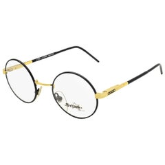 Round eyeglasses by Sting, Italy 1980s