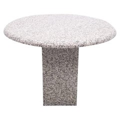 Round Granite Dining Table, 1980s