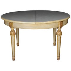 Round Lounge Dining Table Louis XVI, circa 1930