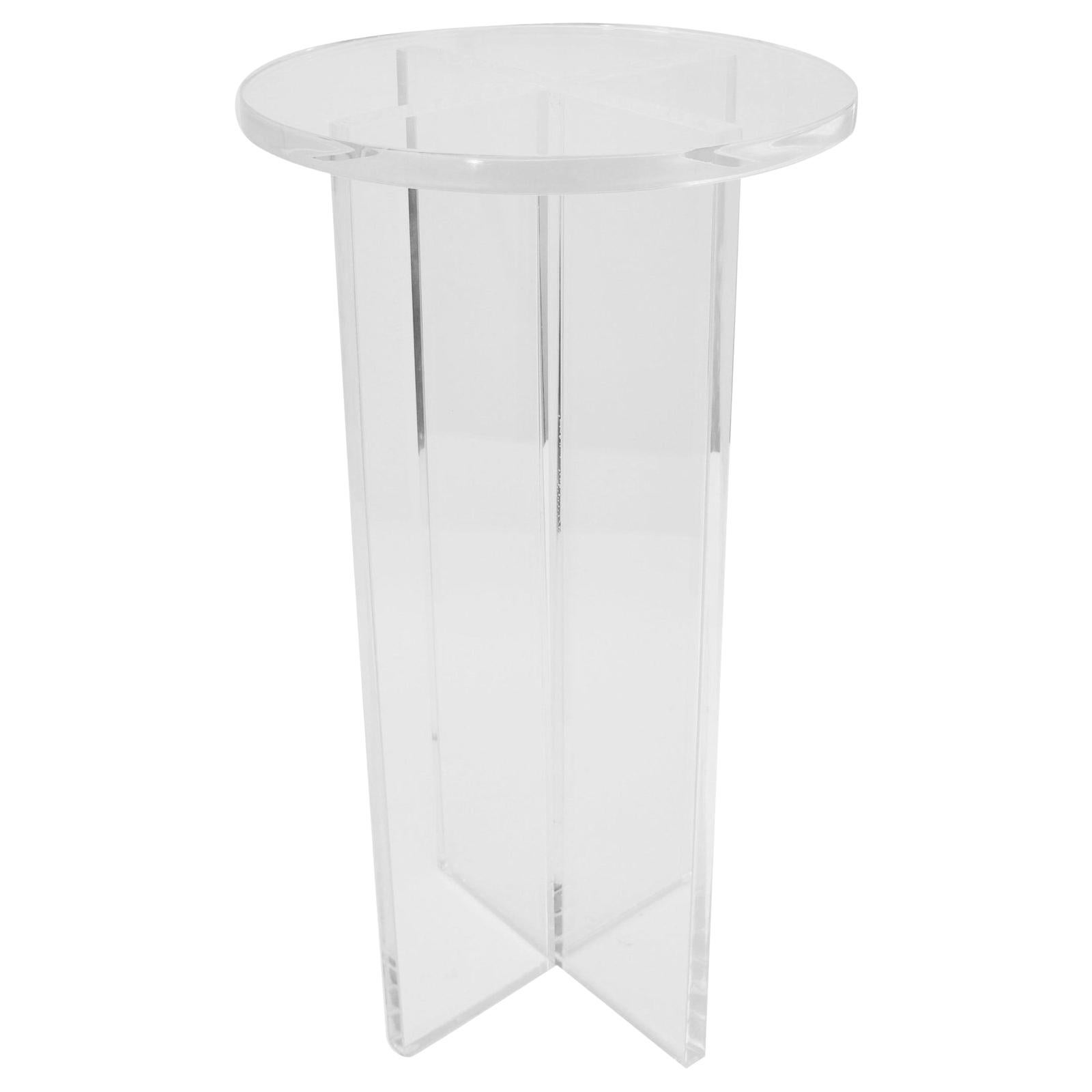 Lucite Drinks Table by Iconic Snob Galeries