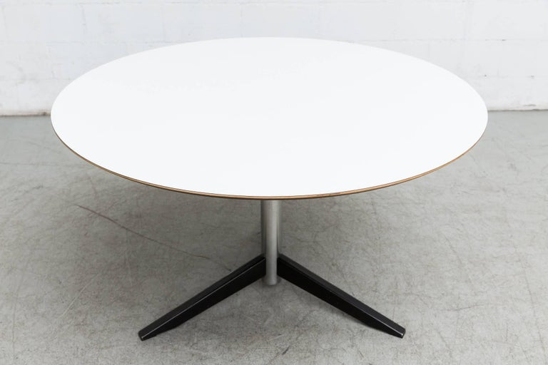 Dutch Round Martin Visser Dining Table For Sale