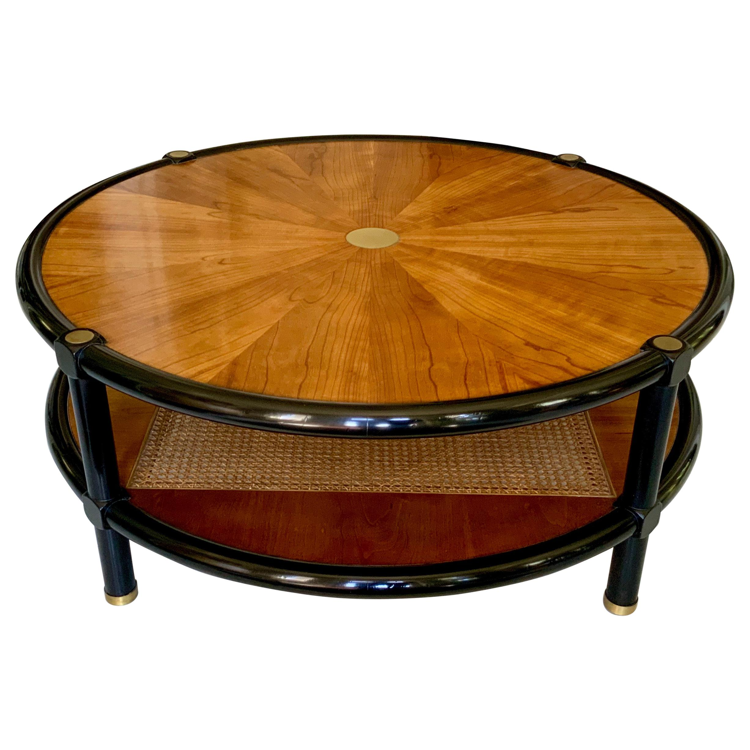 Round Michael Taylor for Baker Coffee and Cocktail Table