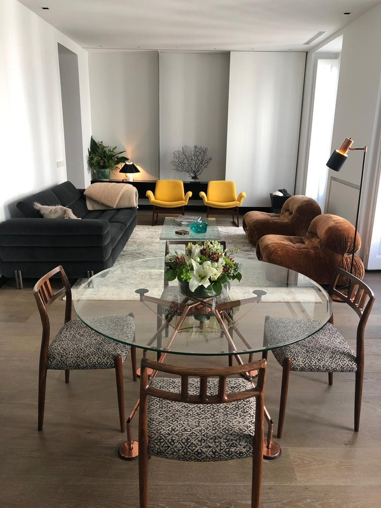 Round Nomos Dining Table by Sir Norman Foster & Partner For Sale 8