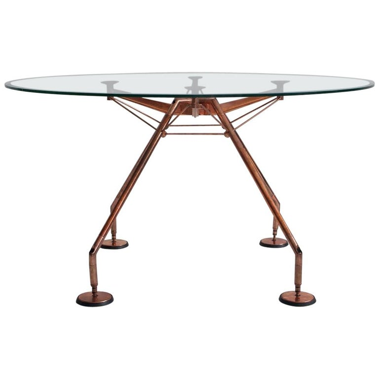 Round Nomos Dining Table by Sir Norman Foster & Partner For Sale