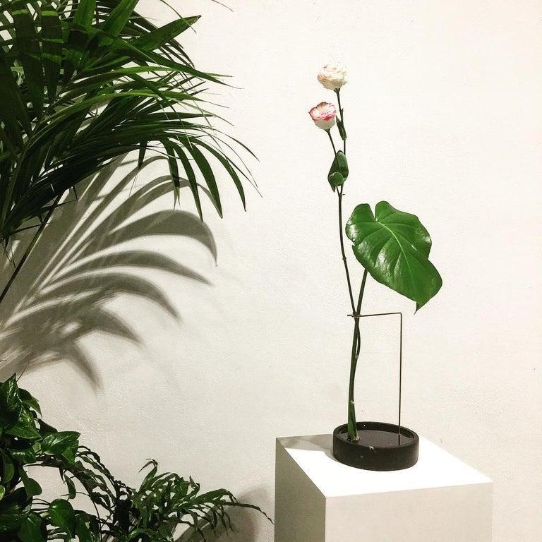 Round Onyx Posture Marble Vase, Carl Kleiner 3