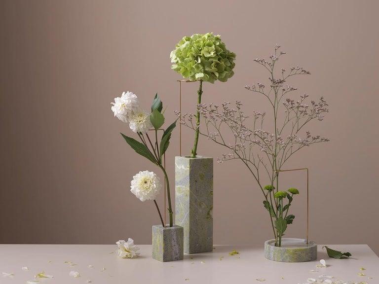 Round Onyx Posture Marble Vase, Carl Kleiner 4