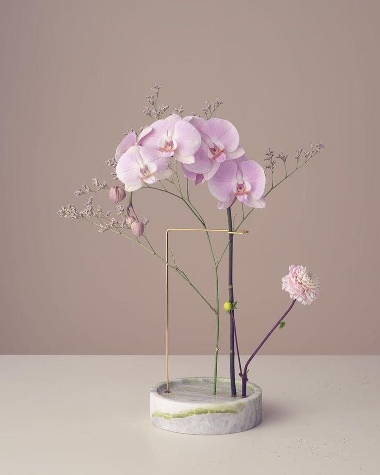 Round Onyx Posture Marble Vase, Carl Kleiner 5