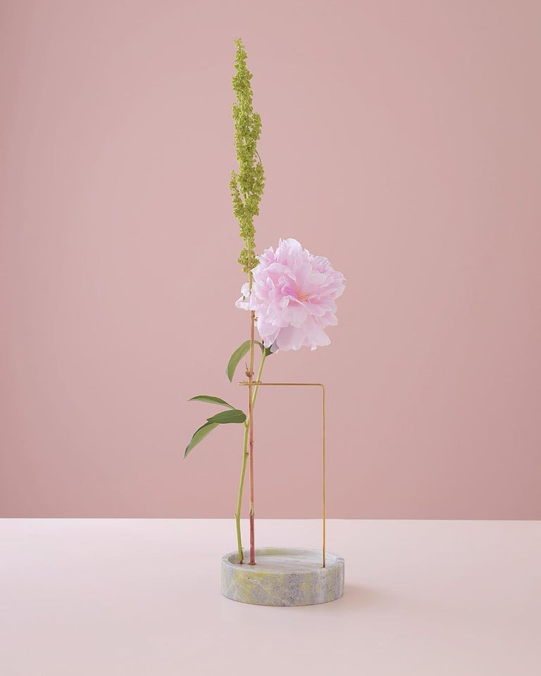 Round Onyx Posture Marble Vase, Carl Kleiner 6