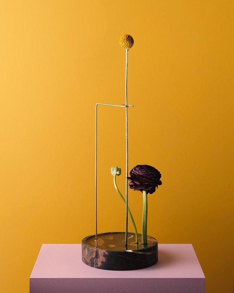 Round Onyx Posture Marble Vase, Carl Kleiner 8
