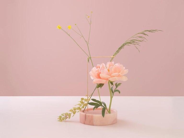 Round Onyx Posture Marble Vase, Carl Kleiner 9