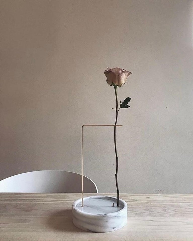 Round Onyx Posture Marble Vase, Carl Kleiner 10