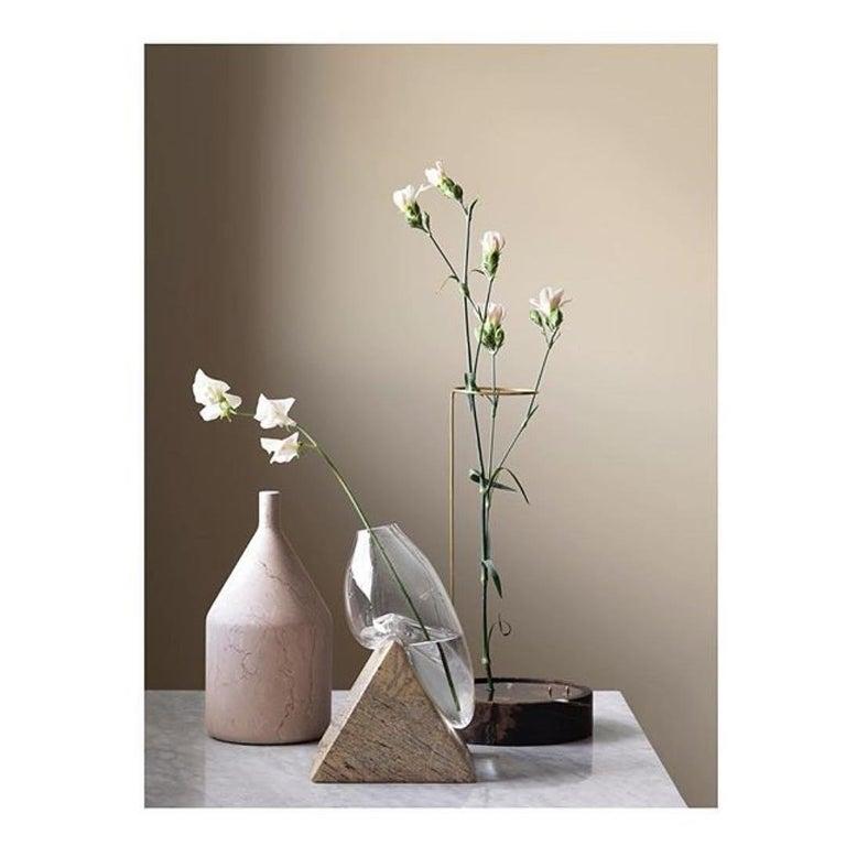 Round Onyx Posture Marble Vase, Carl Kleiner In New Condition In Geneve, CH
