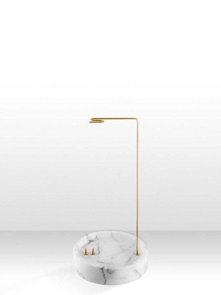 Round Onyx Posture Marble Vase, Carl Kleiner 1