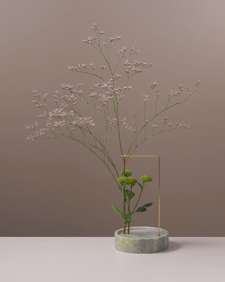 Round Onyx Posture Marble Vase, Carl Kleiner 2