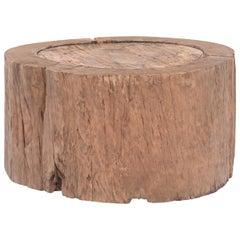 Round Organic Stump Table, circa 1850