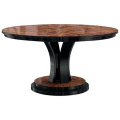 Round Oscar Table in Santos Rosewood